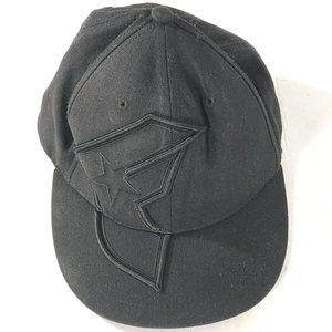 FAMOUS Stars Straps Vintage Mens Black Cap Hat